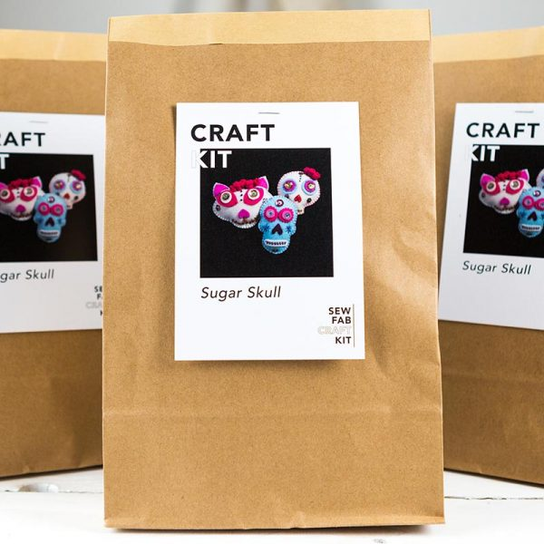 day of dead sugar skulls kit